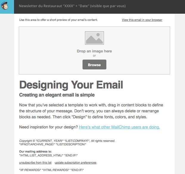 Création mail